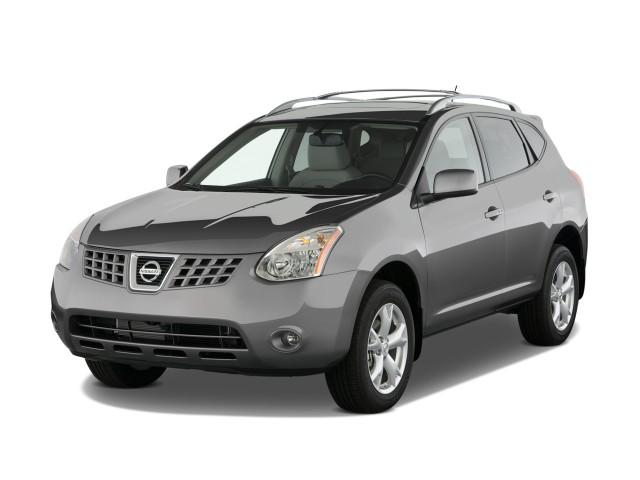 2010 Nissan Rogue FWD 4-door SL Angular Front Exterior View
