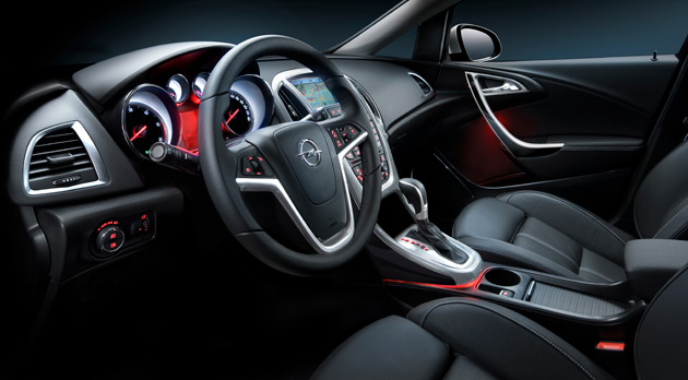 Opel shows off interior for new astra for Opel corsa 2010 interior