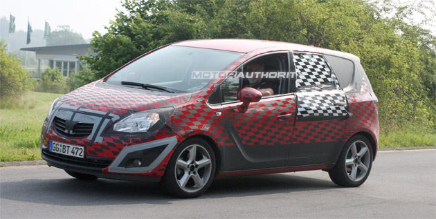 The new Meriva is expected to make its world debut at the Frankfurt Motor Show in September