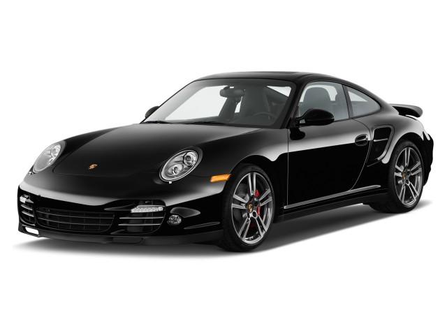 2010 Porsche 911 2-door Coupe Turbo Angular Front Exterior View