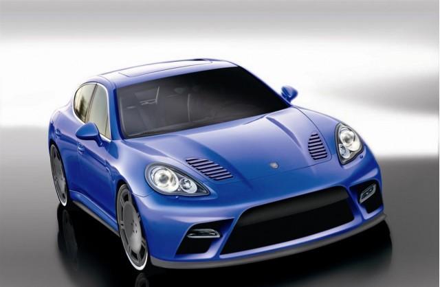 2010 Porsche Panamera by 9ff Renderings