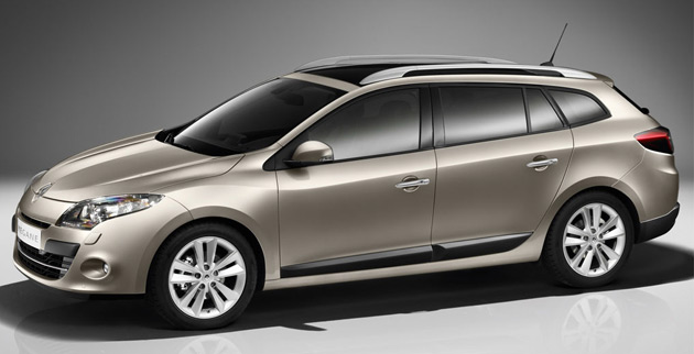 The new Estate wagon joins the existing Hatchback and Coupe in the Megane lineup