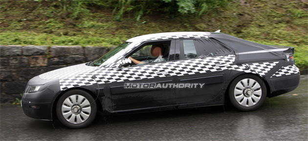 The new Saab 9-5 is scheduled to make its world debut at the Frankfurt Motor Show in September