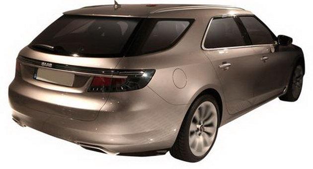 2010 Saab 9-5 SportCombi Leak