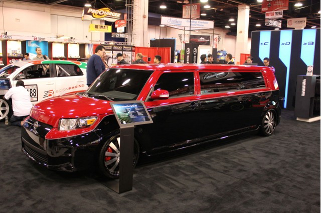 2010 SEMA Show: Stretched Cartel Scion xB