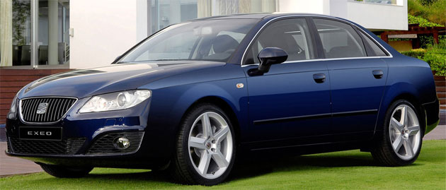 Official photos reveal the new Exeo is essentially a reskinned B7 Audi A4