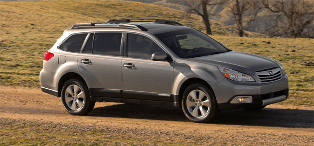 The 2010 Outback is bigger than the outgoing model but starts at the same price