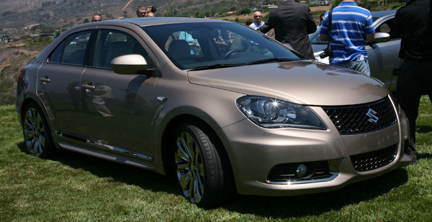 The Kizashi debuts as a sedan but a crossover and wagon are expected to join the lineup