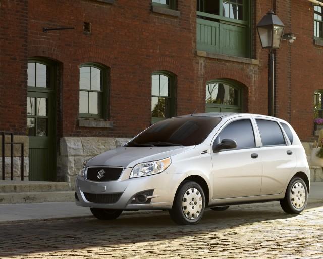2010 Suzuki Swift+ (Canadian market)