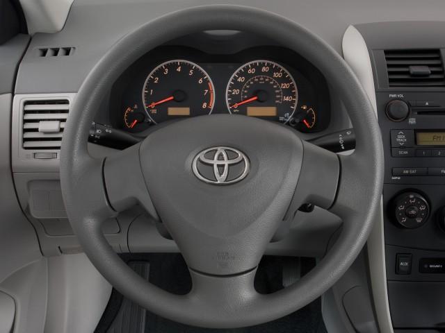 Charming Steering Wheel   2010 Toyota Corolla 4 Door Sedan Auto (Natl)