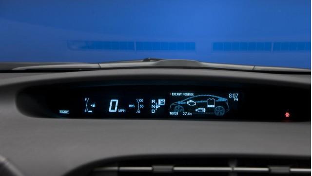 2010 Toyota Prius combination meter