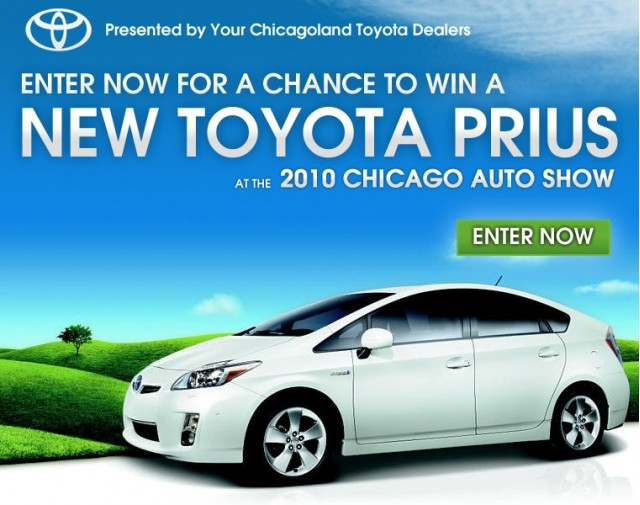 Toyota Dealers To Give Away Prius At Chicago Auto Show - Toyota dealerships chicago