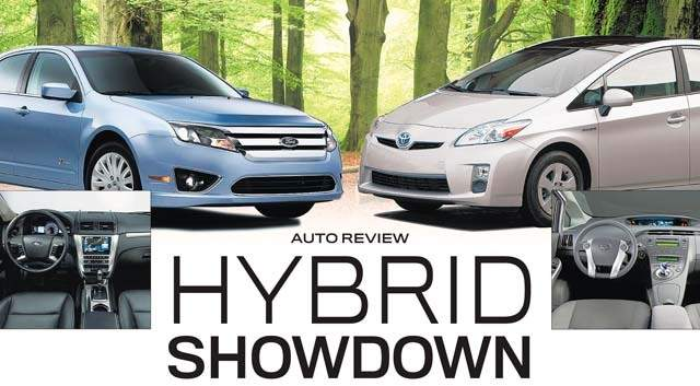 2010 Toyota Prius Vs Ford Fusion Hybrid Detroit News Showdown