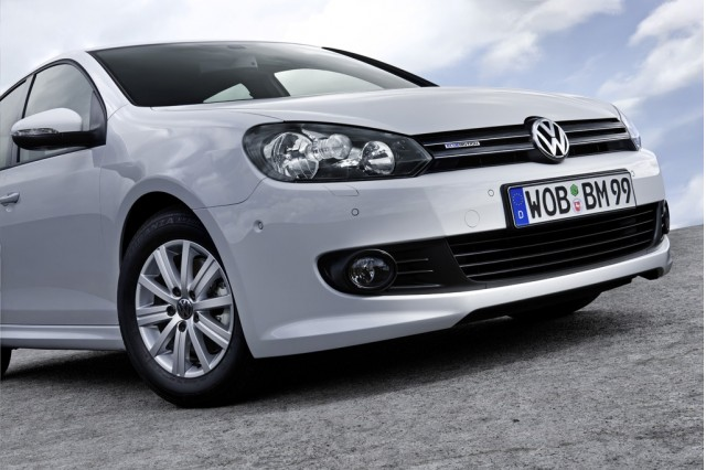2010 Volkswagen Golf Bluemotion For Europe Only