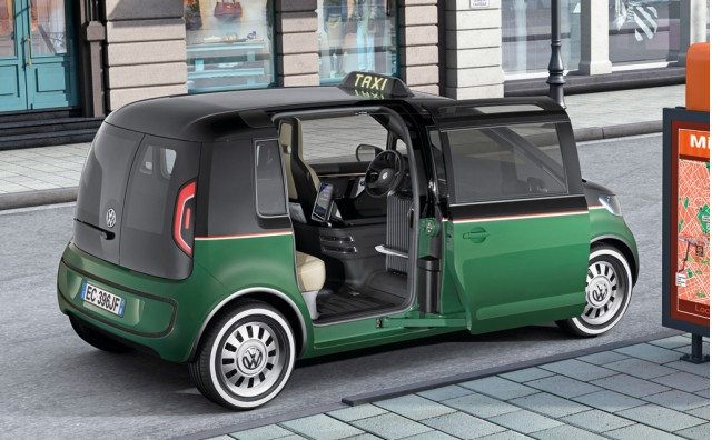 Volkswagen Shows Concept For All Electric Milano Taxi
