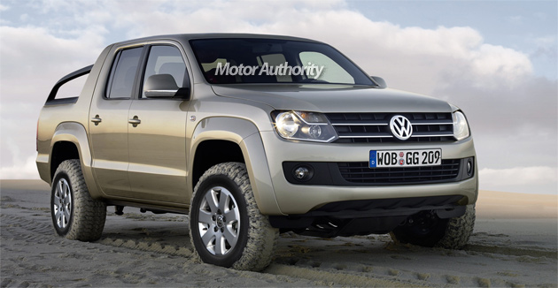 New VW pickup won't be sold in North America or Europe