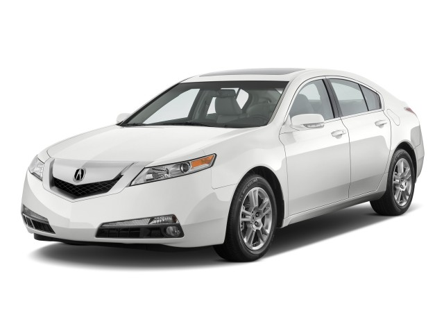 2011 Acura TL 4-door Sedan 2WD Tech Angular Front Exterior View
