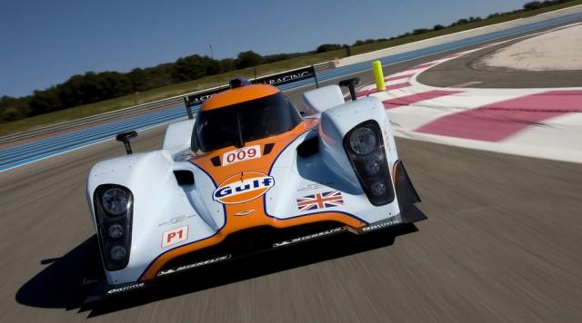 2011 Aston Martin Racing DBR1-2 race car