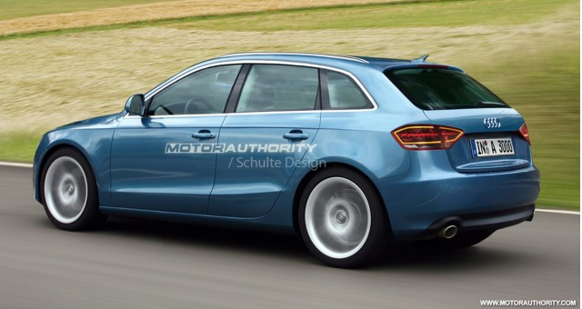 2011 audi a3 sportback preview rendering 001