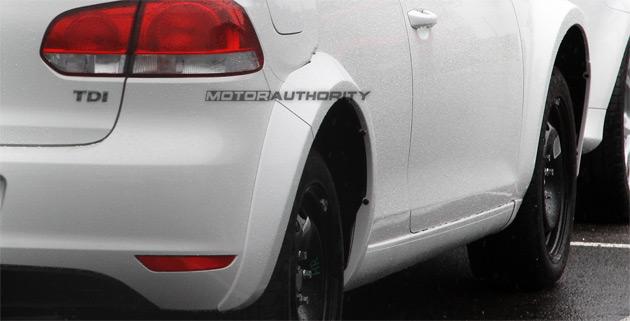 2011 Audi A3 Spy Shots