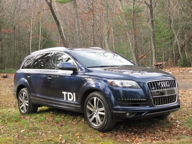 2011 Audi Q7 TDI test drive, Catskill Mountains, Nov 2011
