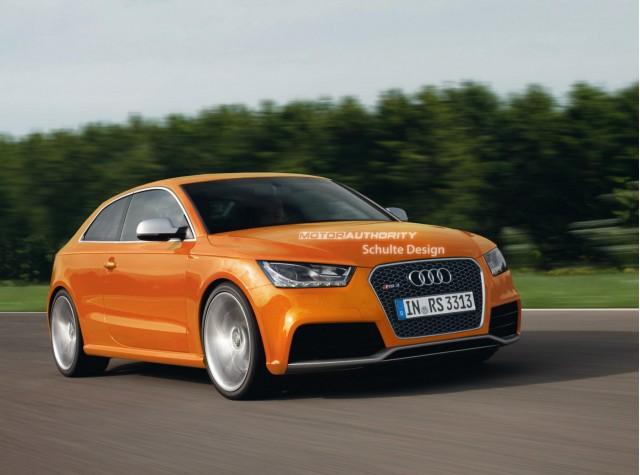 2011 Audi RS3 rendering