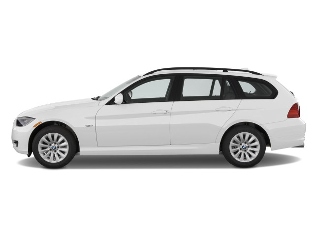 Side Exterior View - 2011 BMW 3-Series 4-door Sports Wagon 328i xDrive AWD