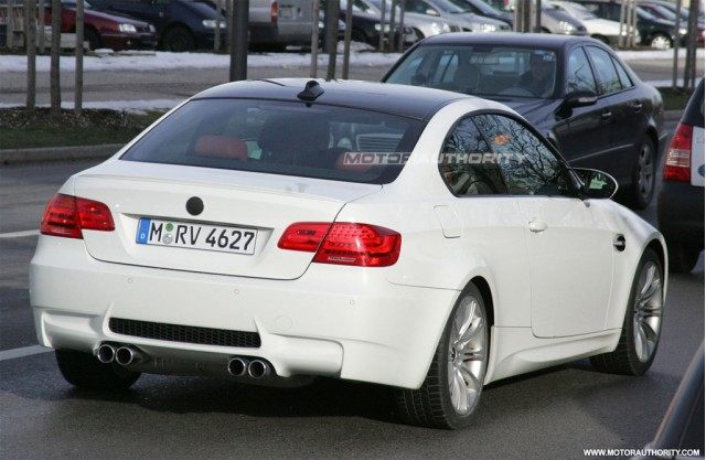 2011 BMW M3 Coupe facelift spy shots