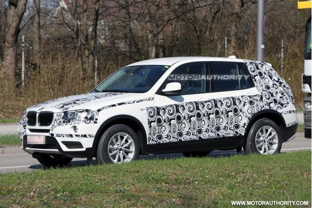 2011 BMW X3 spy shots