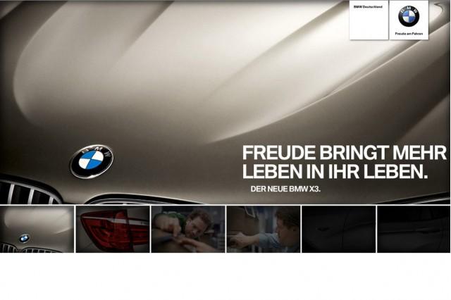 2011 BMW X3 teaser