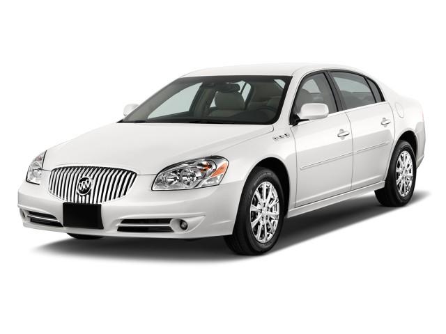 2011 Buick Lucerne 4-door Sedan CXL Premium Angular Front Exterior View