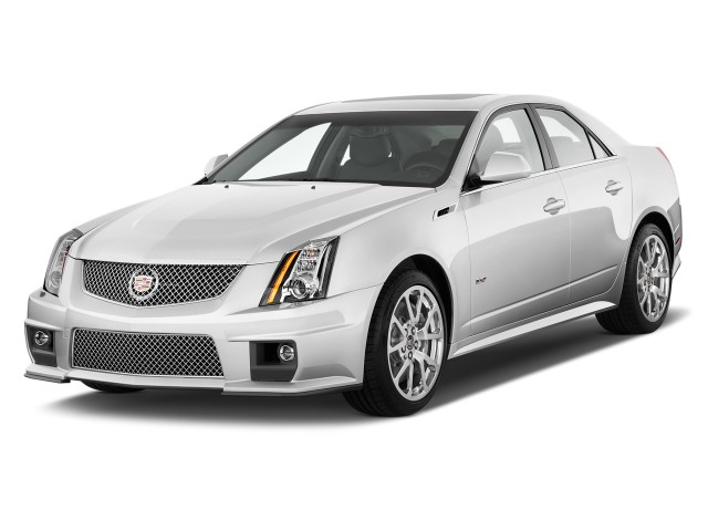 2011 Cadillac CTS-V Sedan 4-door Sedan Angular Front Exterior View