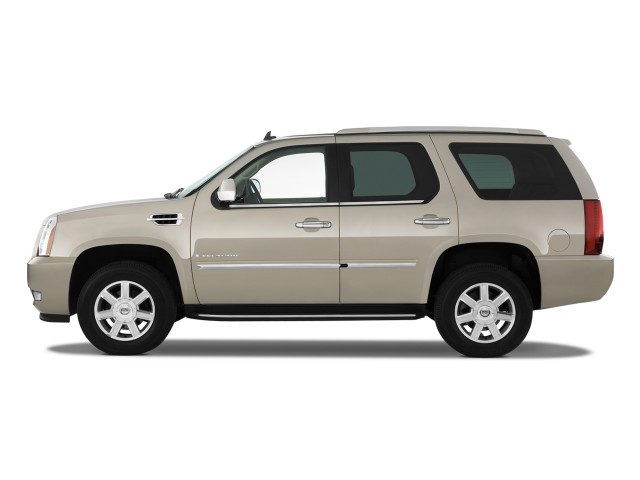 2011 Cadillac Escalade AWD 4-door Base Side Exterior View