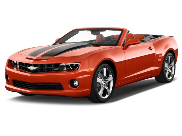 2011 Chevrolet Camaro 2-door Convertible 1SS Angular Front Exterior View