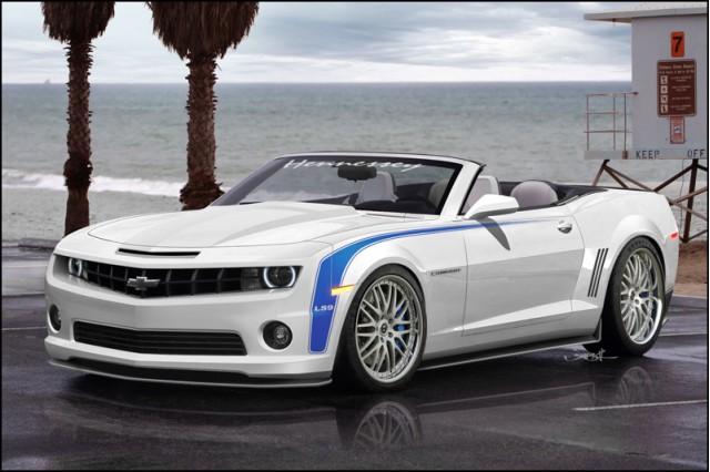2011 Hennessey HPE700 LS9 Chevrolet Camaro Convertible