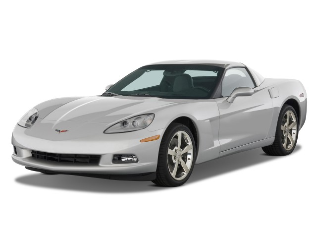 2011 Chevrolet Corvette 2-door Coupe w/4LT Angular Front Exterior View