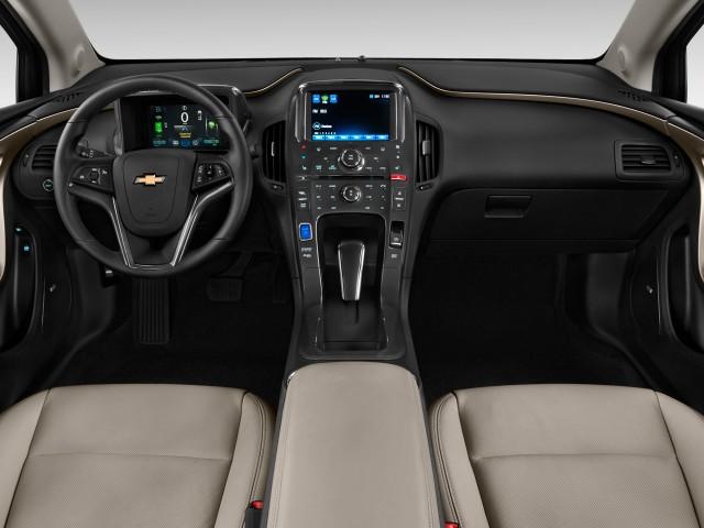 2011 Chevrolet Volt 5dr HB Dashboard