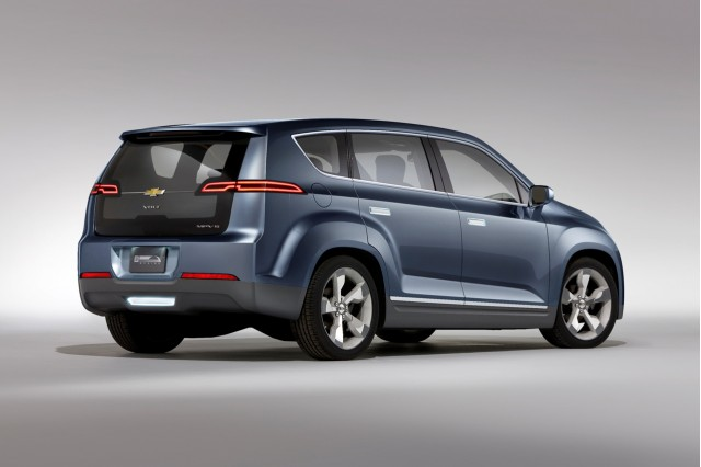 2011 Chevrolet Volt MPV5 concept, Unveiled at 2010 Beijing Motor Show