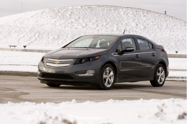2011 Chevrolet Volt pre-production prototype, January 2010