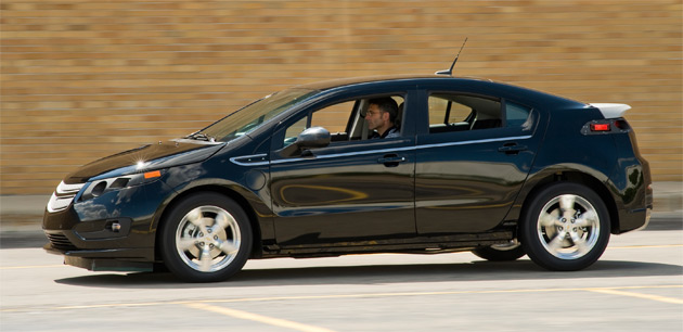 The Volt isn't the only high-efficiency car in the works at GM