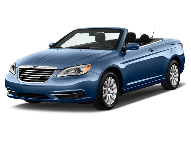 2011 Chrysler 200 2-door Convertible Touring Angular Front Exterior View