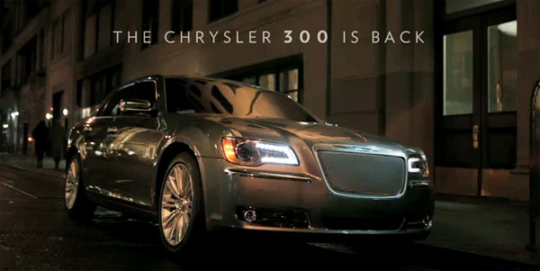 2011 Chrysler 300 in new Imported From Detroit ad
