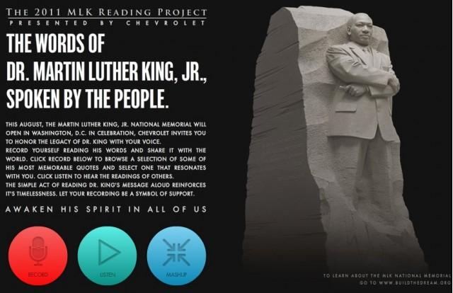 Chevrolet Sponsors The 2011 MLK Reading Project