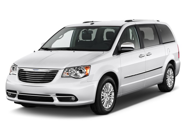 2011 Chrysler Town & Country 4-door Wagon Limited Angular Front Exterior View