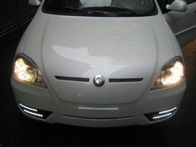 2011 Coda Sedan prototype - front