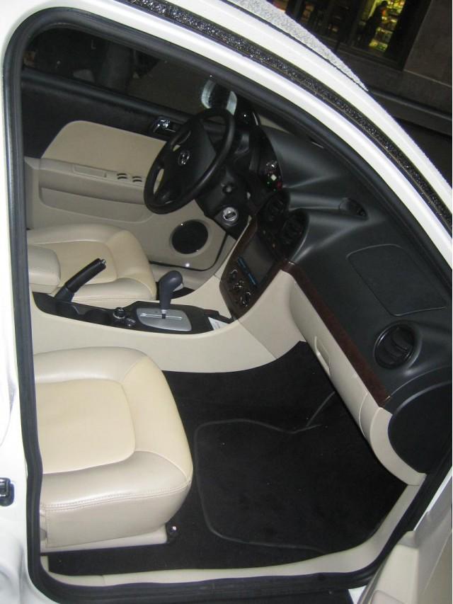 2011 Coda Sedan prototype - interior