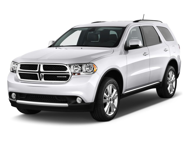 2011 Dodge Durango 2WD 4-door Crew Angular Front Exterior View