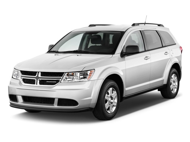 2011 Dodge Journey FWD 4-door Express Angular Front Exterior View