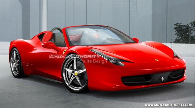Preview 2011 Ferrari 458 Italia Spider