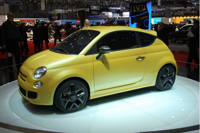 2011 Fiat 500 Coupe Zagato Concept. Photo by Vitesse Photography.